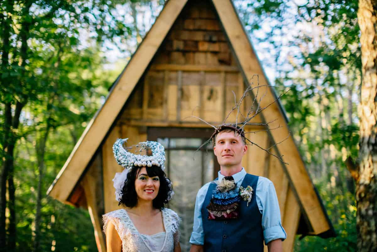 woodland punk rock wv wedding dr seuss inspired house