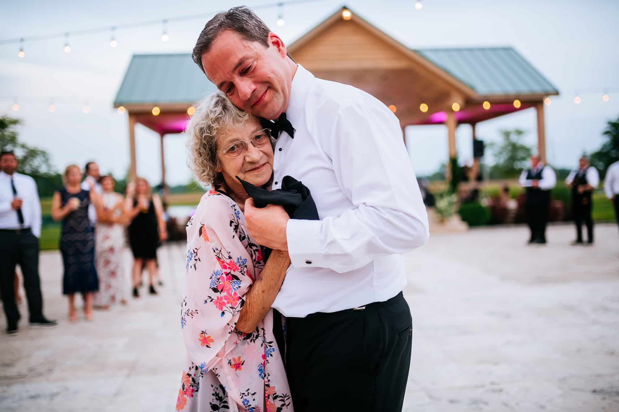 dancing with grandma