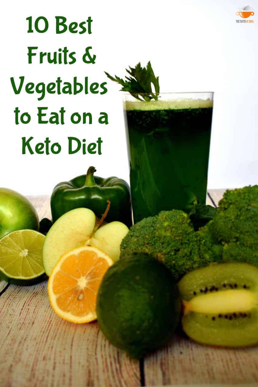 Top 10 Best Fruits & Vegetables to Eat on a Keto Diet