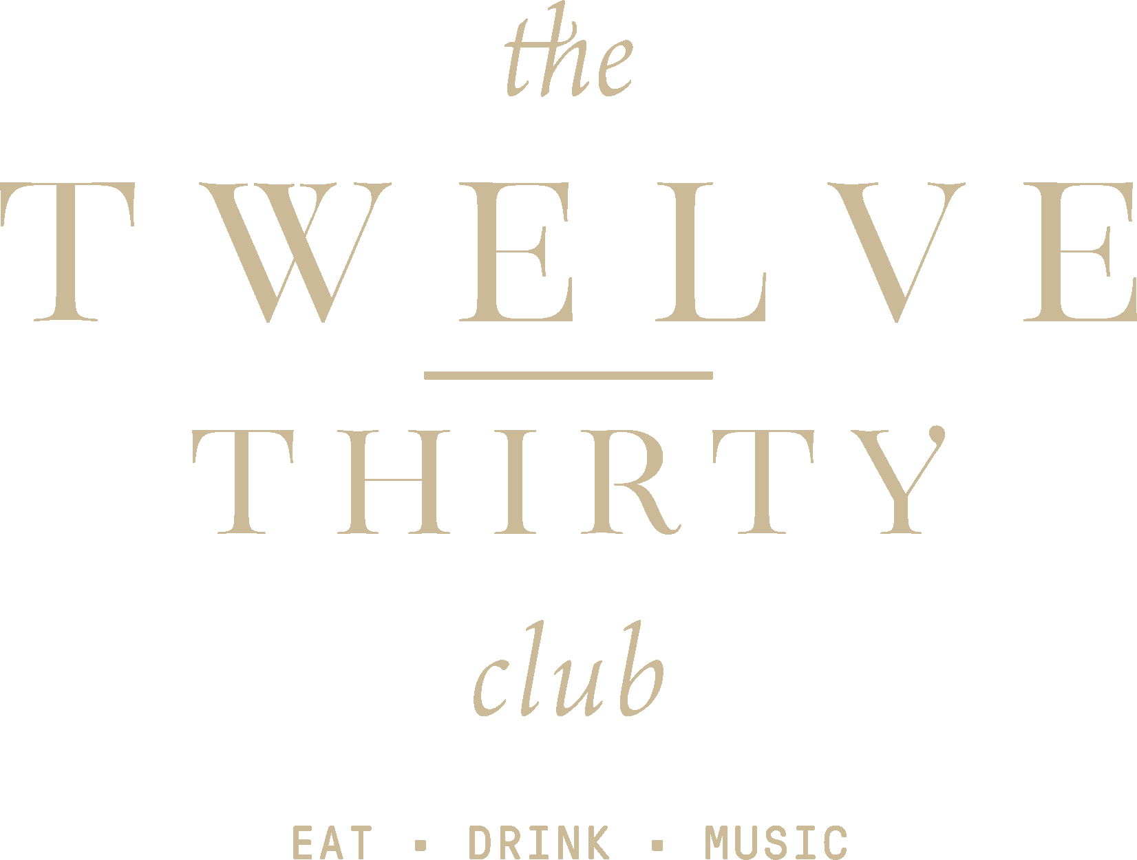 Twelve Thirty Club | logo