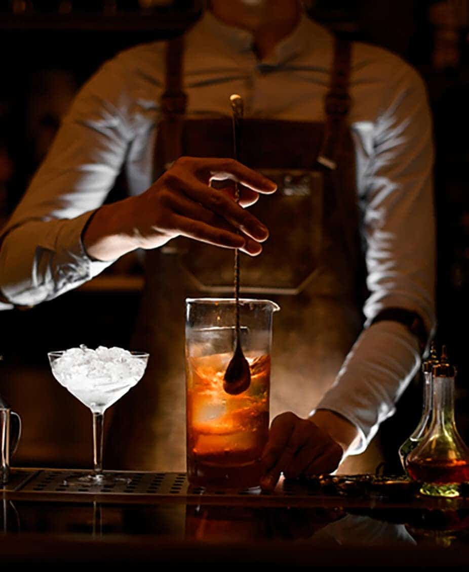Twelve Thirty Club | Bartender making a cocktails