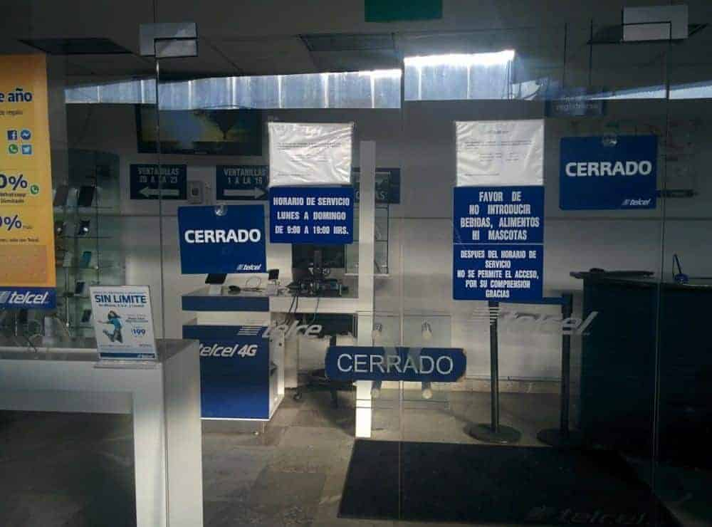Telcel Store Mexico City Airport