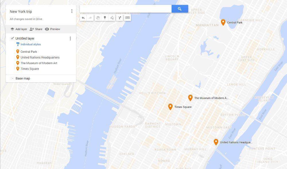 Google Maps - custom maps