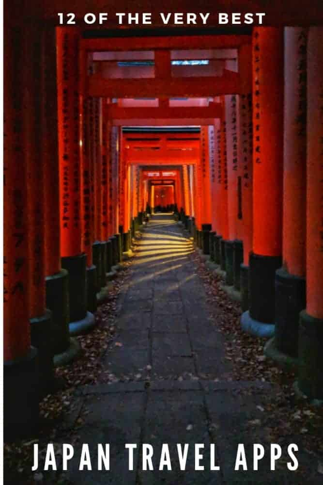 12 of the very best Japan travel apps