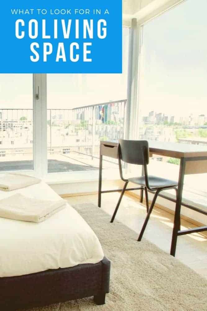 Things to look for in a coliving space