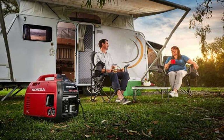Can I Use A Generator On A  Campsite?