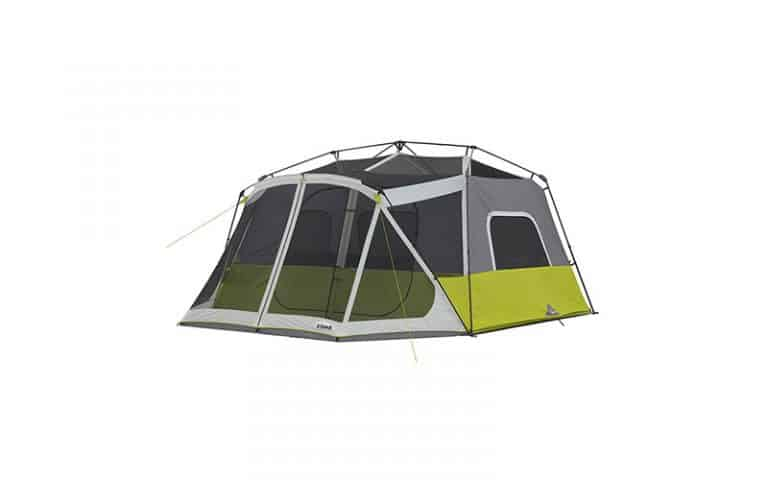 CORE 10 Person Instant Cabin Tent  (With Screen Room): Definitive Review (2021)