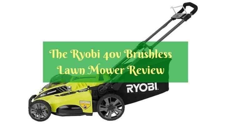 Ryobi 40v Brushless Lawn Mower