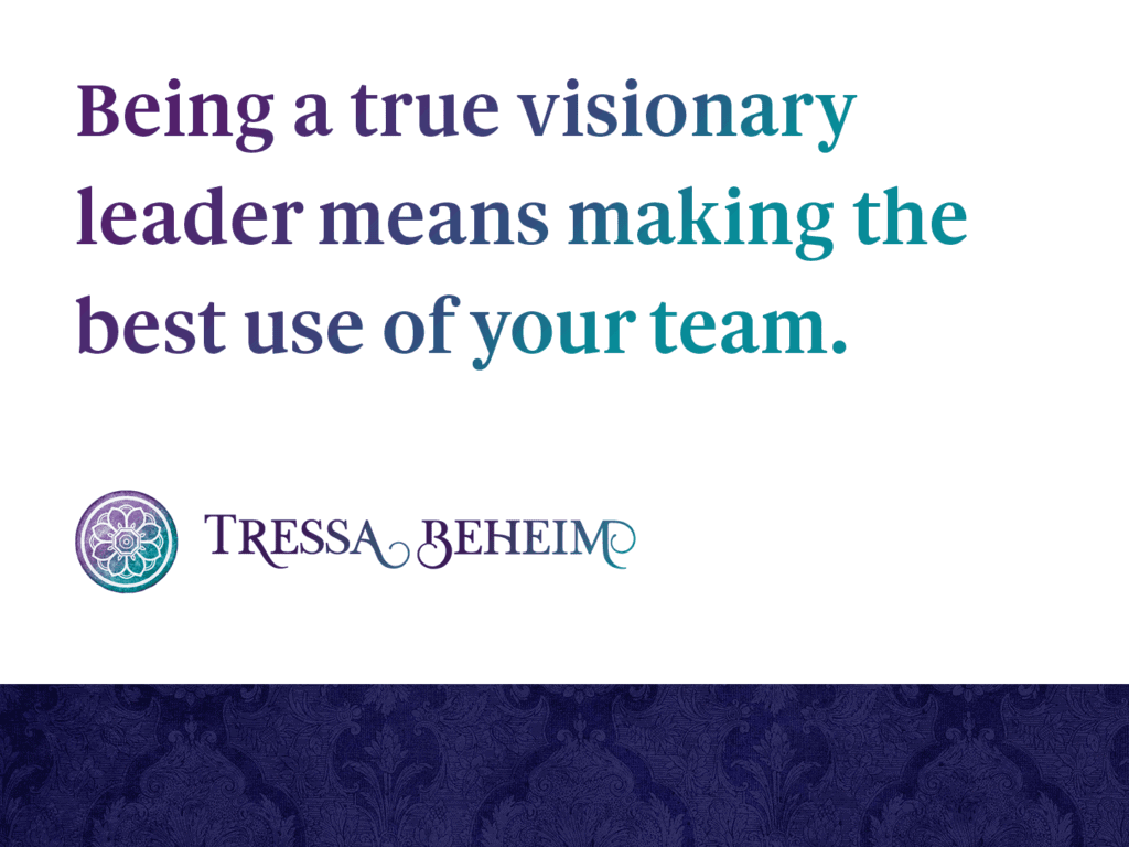 Being the kind of leader you want for your business takes time and effort. Here are some tips on how to embrace your role as a visionary leader.