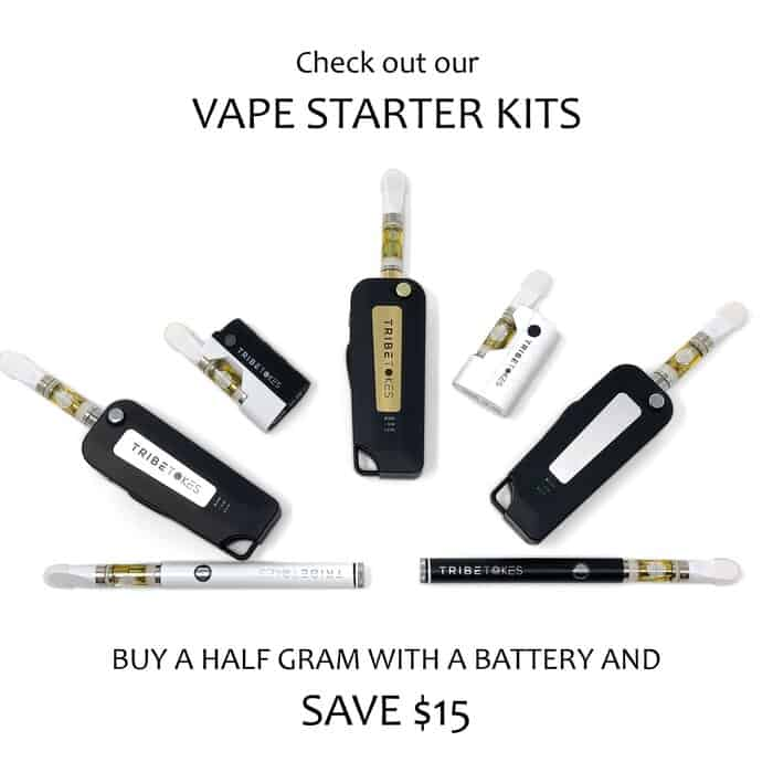Full & Half Gram CBD Vape Oil Cartridge Starter Kit