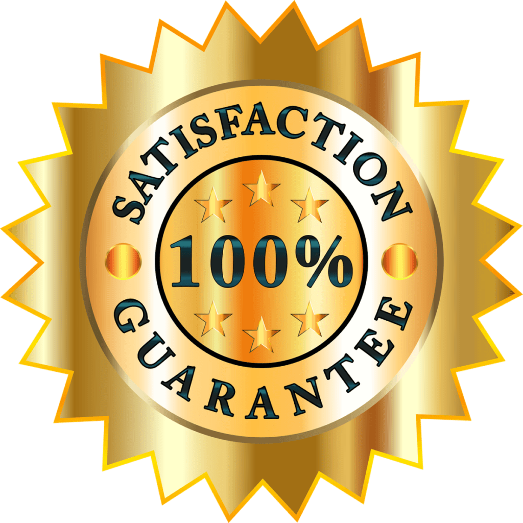 100% money back guarantee seal for GenFX