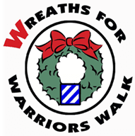 Wreaths for Warriors Walk Logo