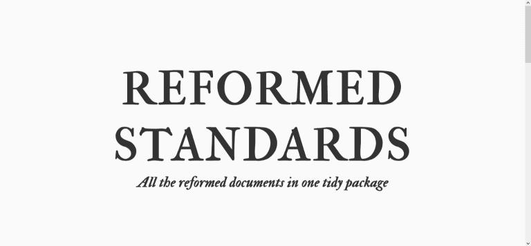screenshot of resource webpage: screenshot reformedstandards.com 2021.06.14 09 58 21.png