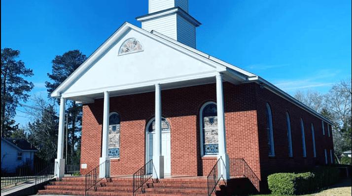 church logo: cornerstone baptist church.png