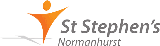 church logo: st stephens normanhurst logo.png