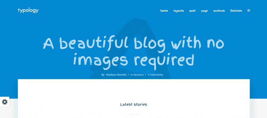 Thèmes WordPress minimaux
