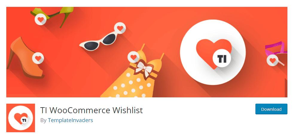 Plugins de liste de souhaits WooCommerce