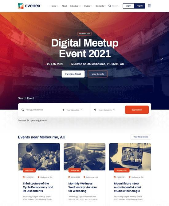 Thèmes WordPress pour les conférences en ligne