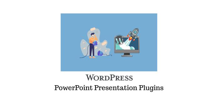 Plugins WordPress pour ajouter des présentations