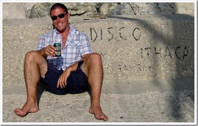 Dave in Greek Islands