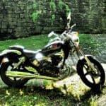 Motorcycle in San Sebastian