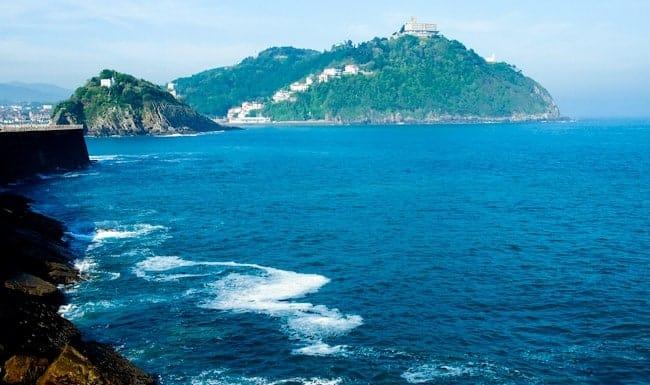 San Sebastian coast