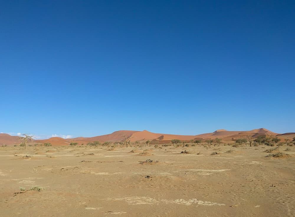 Dry land, Namibia