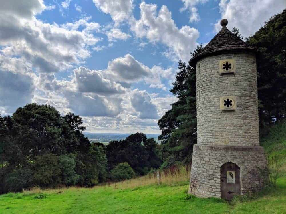 Nesting tower, Cotswold Way