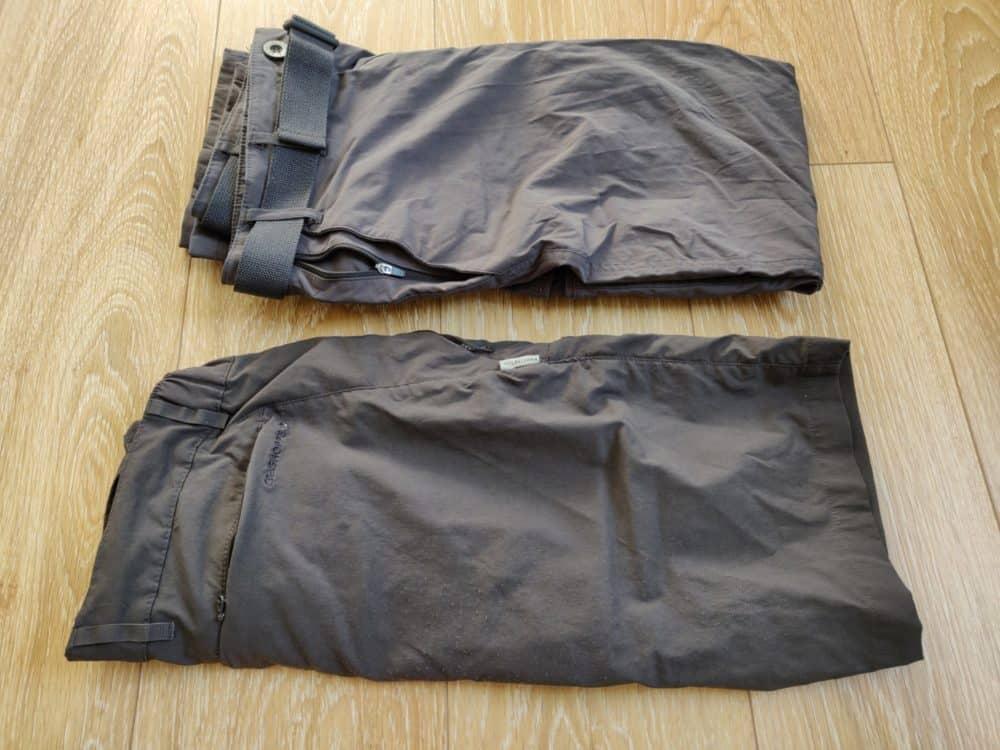 Camino de Santiago - shorts and pants