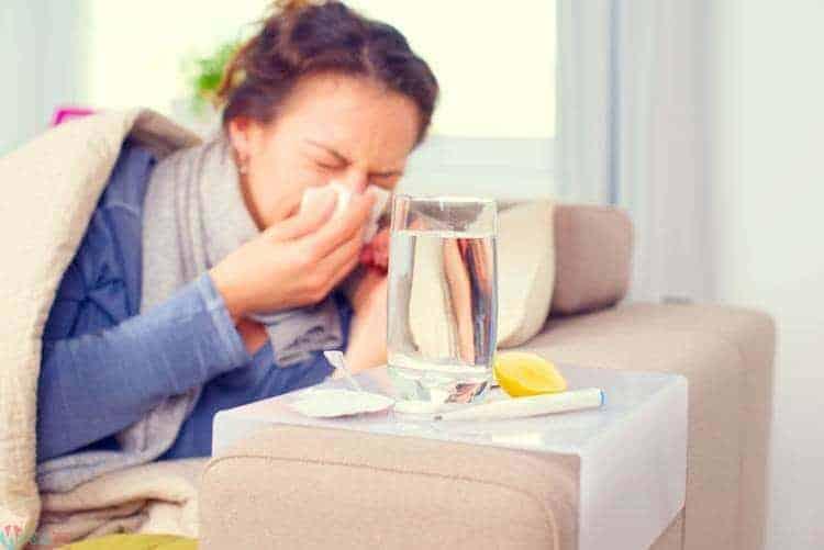 كيفية علاج البرد والانفلونزا أثناء الحمل 2