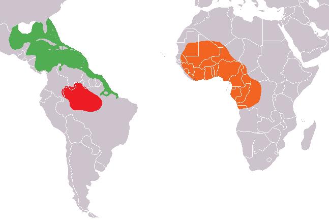 Manatee Map