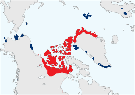 Muskox Map
