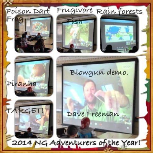 Rainforest virtual school assembly for an elementary school.