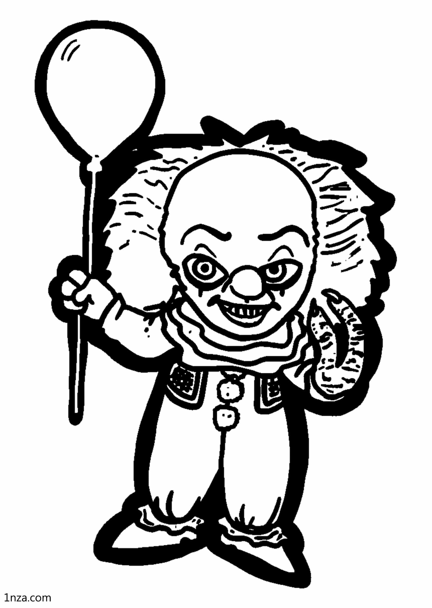 Pennywise Coloring Pages - Free Printable Coloring Pages ...