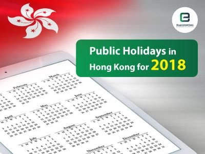 Public Holidays in Hong Kong for 2018