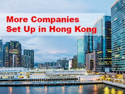 More Companies Set Up in Hong Kong: Preferred for Business