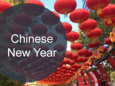 Chinese New Year Holiday fall between January and February in Singapore
