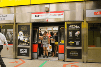 The North-South (NS) Line - Toa Payoh