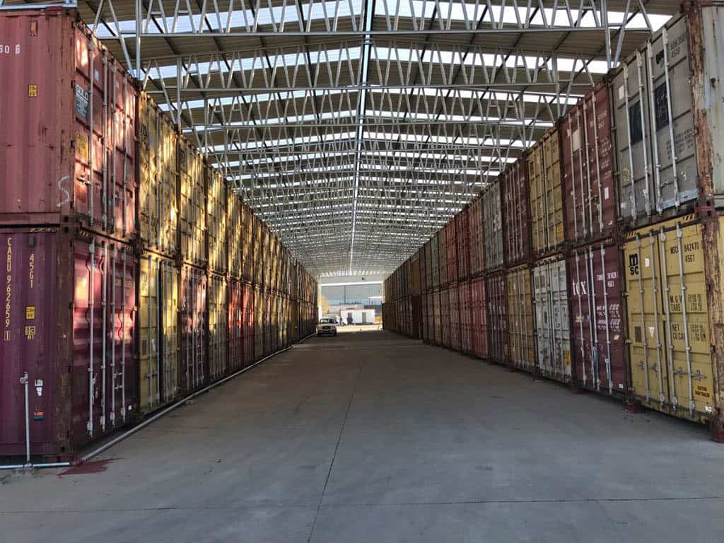 Onsite Storage Container Warehouse