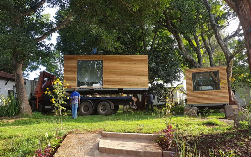 Ikigai Converted Mobile Containers