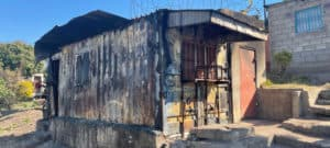 Burnt Container Spaza Shop