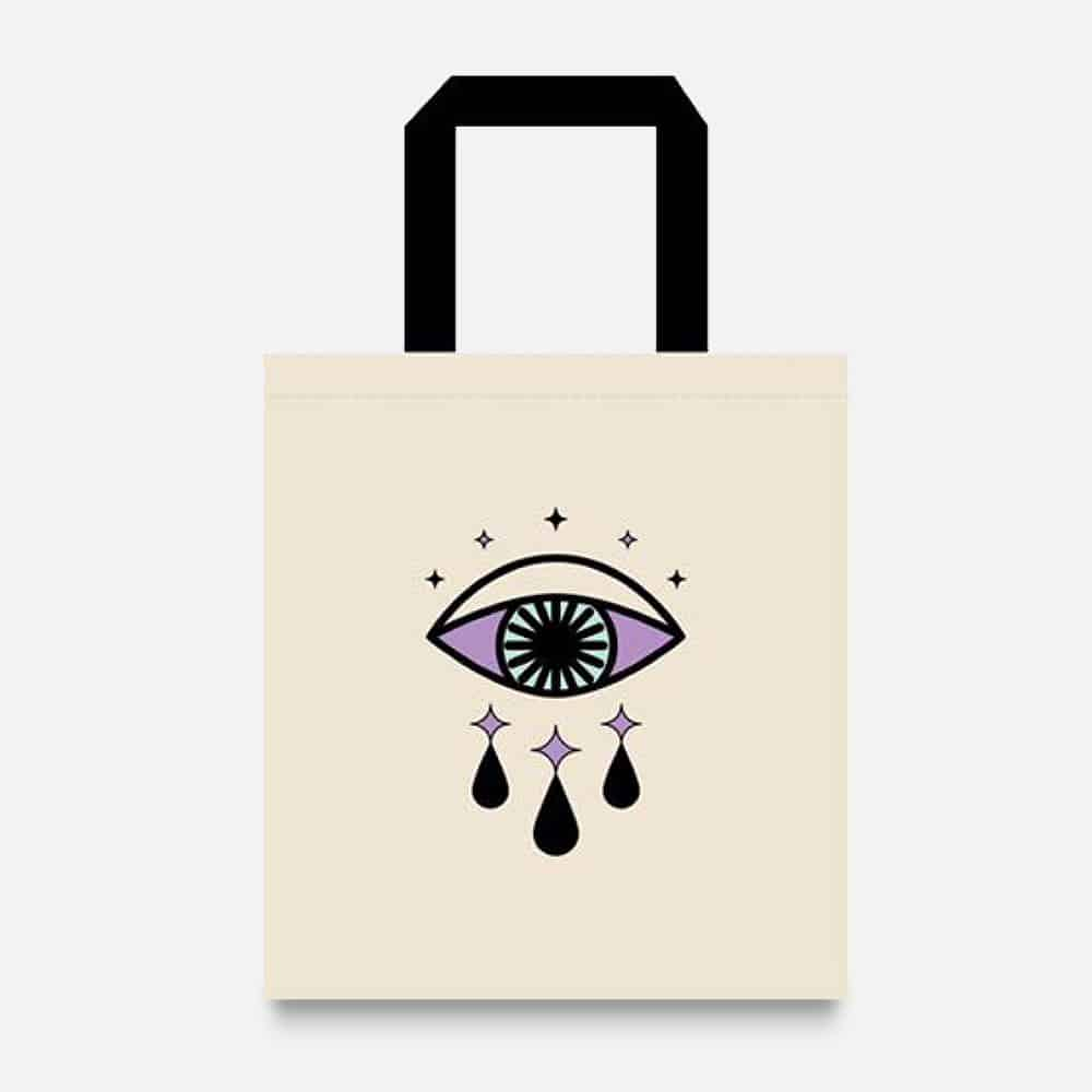 amika Limited Edition Tote Bag- Eyes Wide Shut