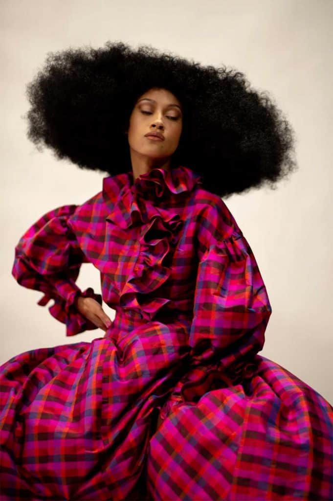 amika blog: A look back at Naeemah LaFond's most iconic styles in NYFW history 1