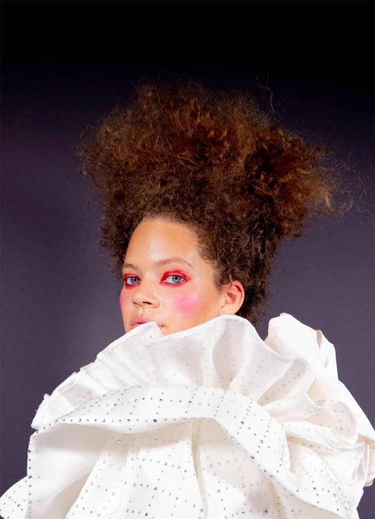 amika blog: A look back at Naeemah LaFond's most iconic styles in NYFW history 2