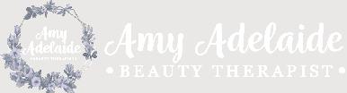 Amy Adelaide - Cheltenham Beauty - Logo White