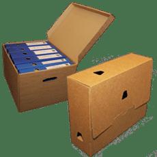 Pudła archiwizacyjne z tektury falistej | Archivboxy