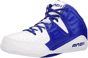 AND1 Men's Rocket 4.0 Mid Basketball Sneakers Shoes Casual