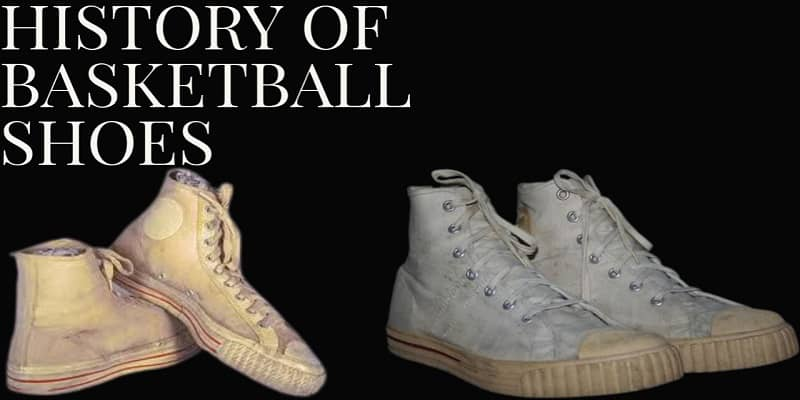history of basketball shoes