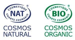 Logo Label Cosmos Naturel et Cosmos Organic