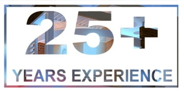 25+ Years Experience 360X180
